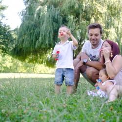Séance famille – Aix en Provence | Jade, Lenny et leurs parents