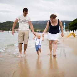 Séance famille – Lavandou – Var | Clément et ses parents