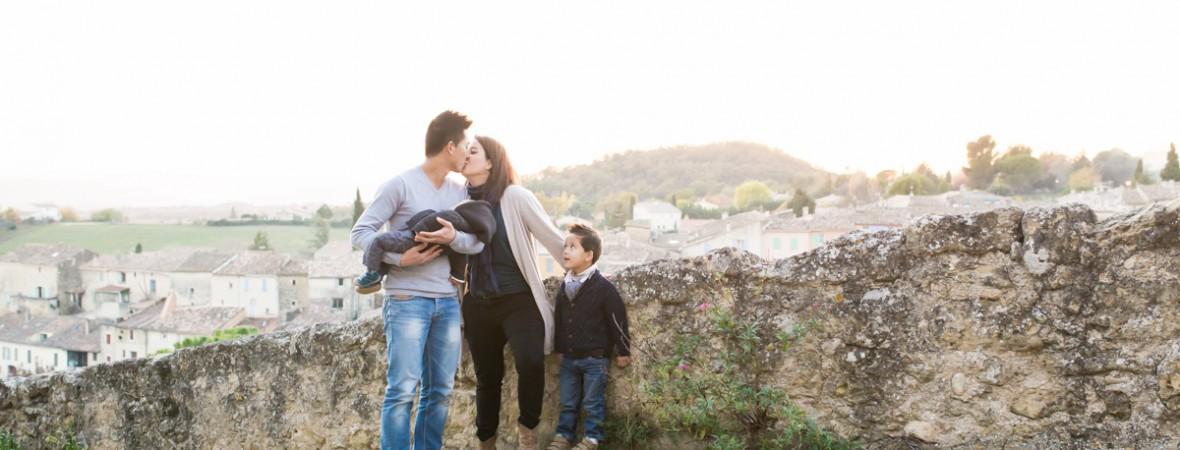 Séance famille – Pertuis |Thierry, Céline et leurs fils