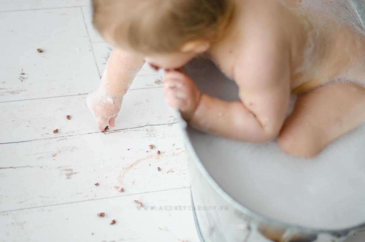 Smash the cake | Léana, 1 an 4