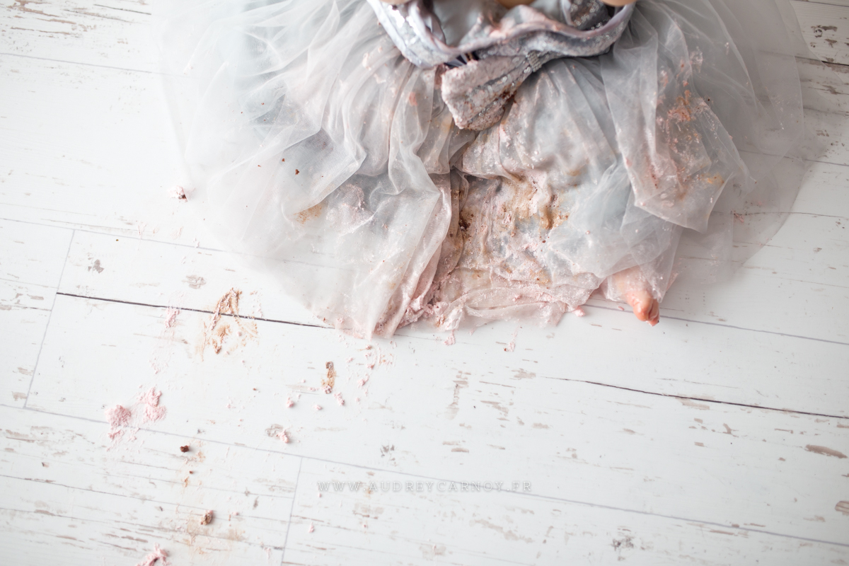 Smash the cake | Léana, 1 an 8