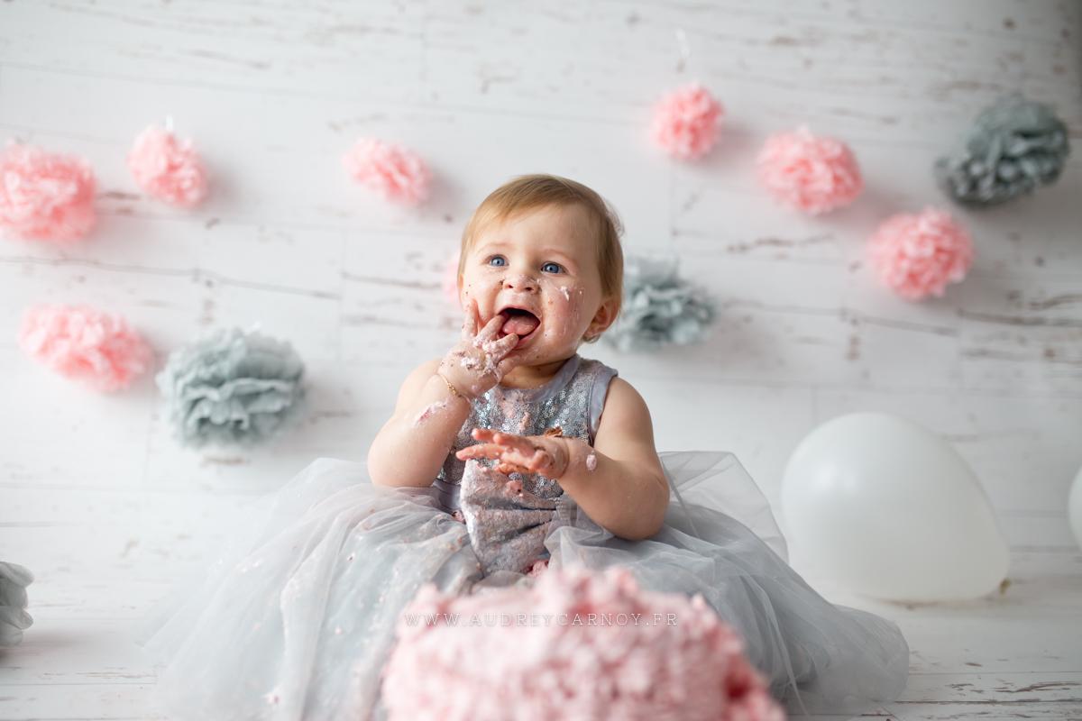Smash the cake | Léana, 1 an 12