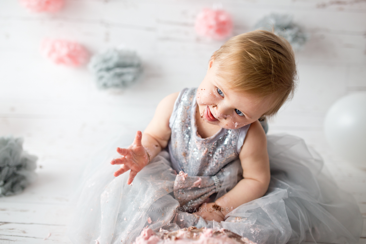 Smash the cake | Léana, 1 an 13