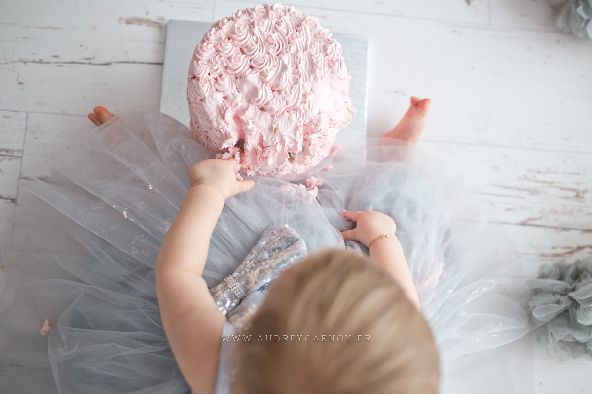 Smash the cake | Léana, 1 an 28