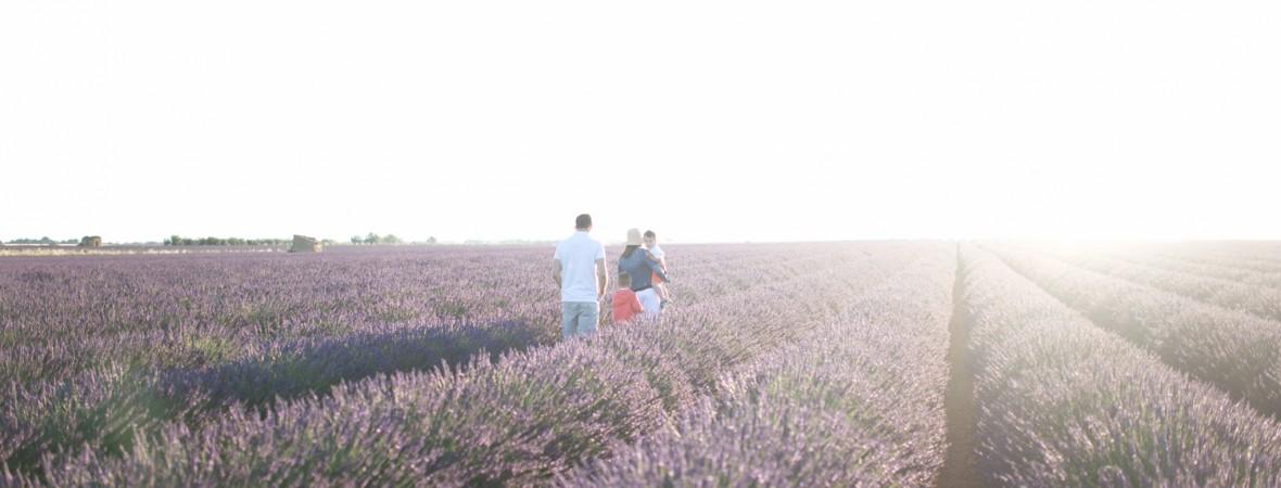 Séance famille – Valensole – Manosque | Nathalie