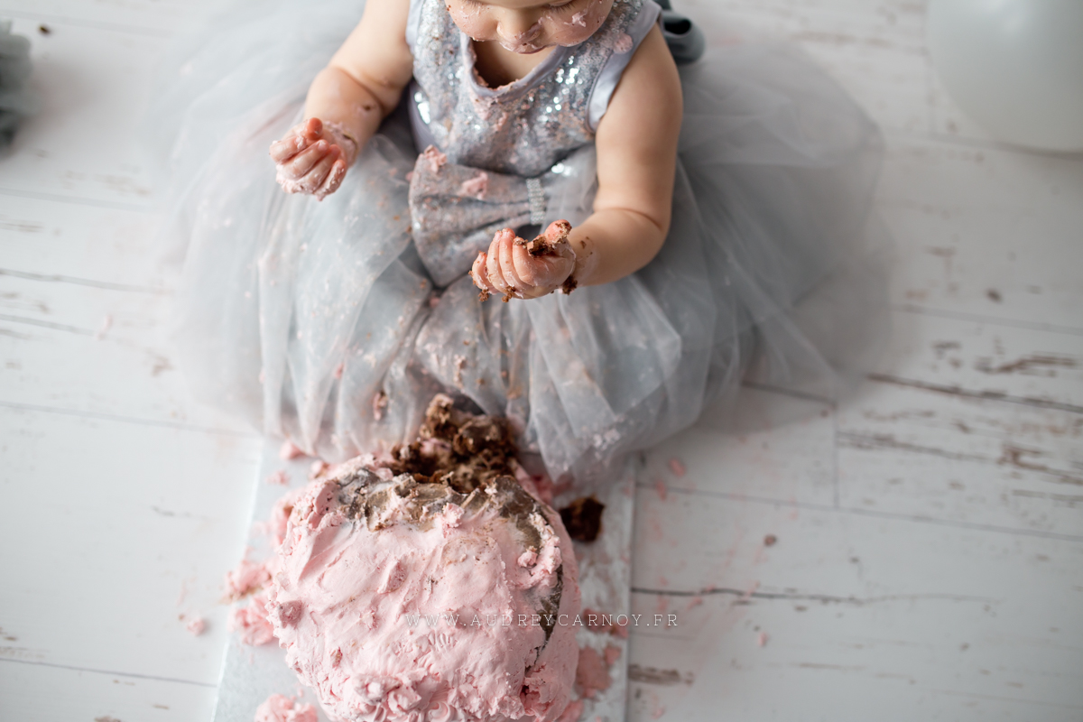Smash the cake | Léana, 1 an 14