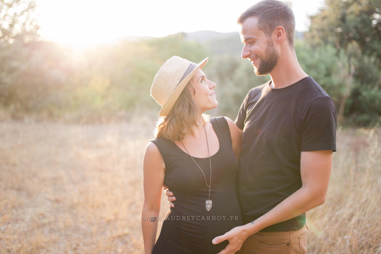 Seance grossesse Provence - Pertuis | Audrey & Jerome 1