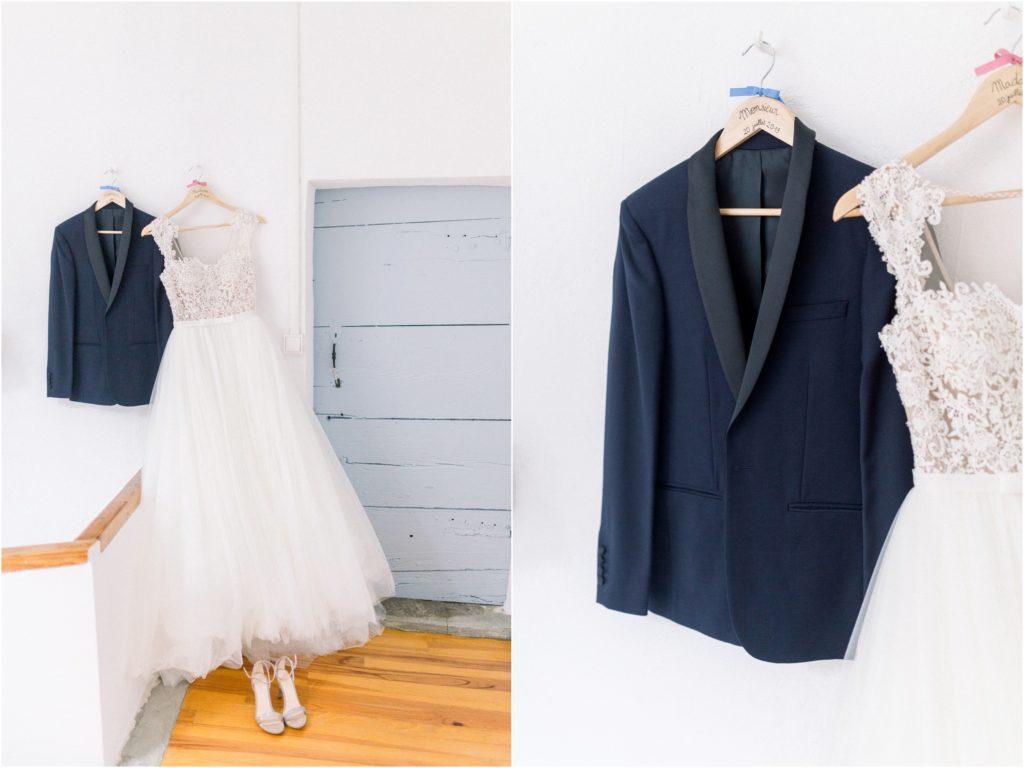 photo mariage Forcalquier costume et robe de mariée