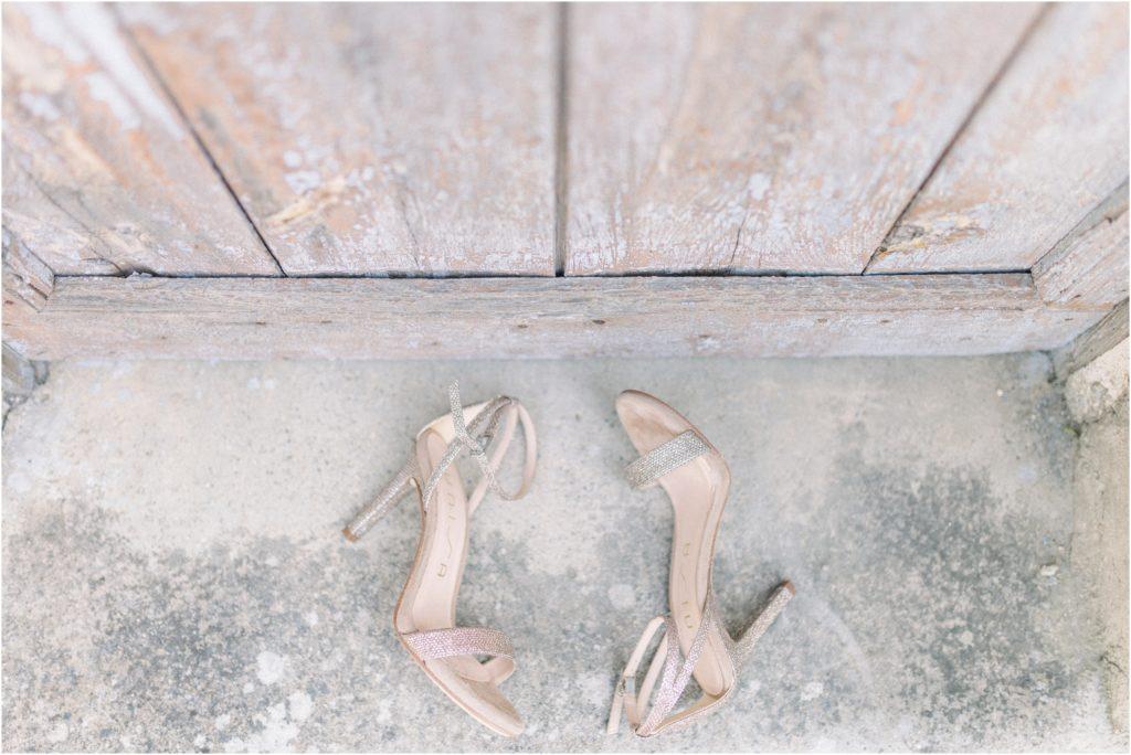 photo mariage Forcalquier chaussures mariée