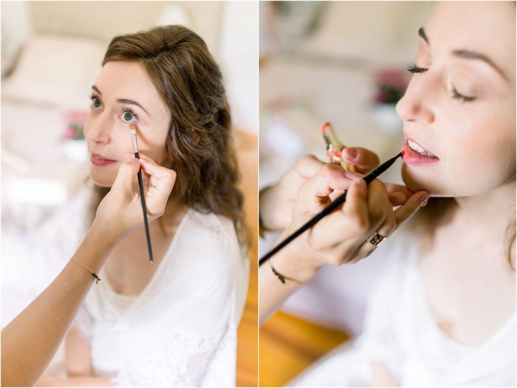 photo mariage Forcalquier préparatifs mariée maquillage