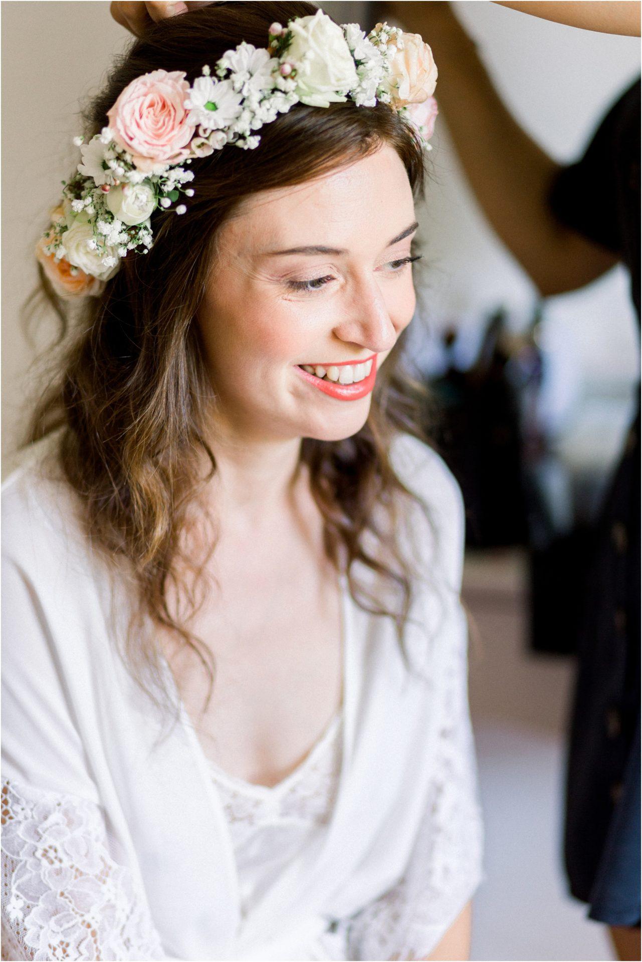 photo mariage Forcalquier préparatifs mariée