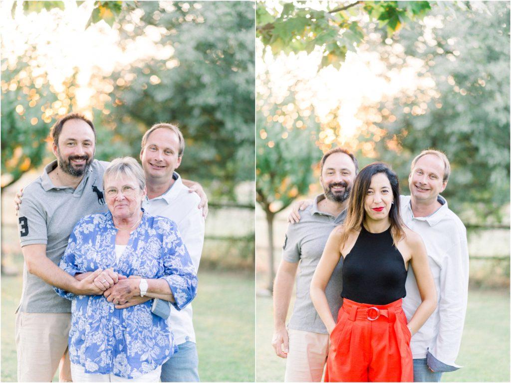 photo de famille à Aix-en-provence