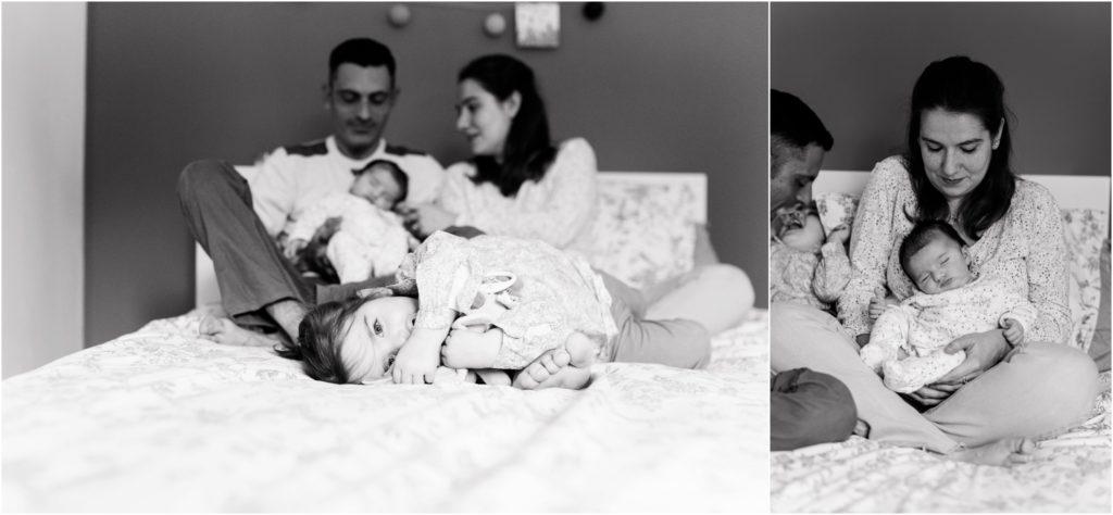 Seance photo reportage famille à Aix-en-Provence