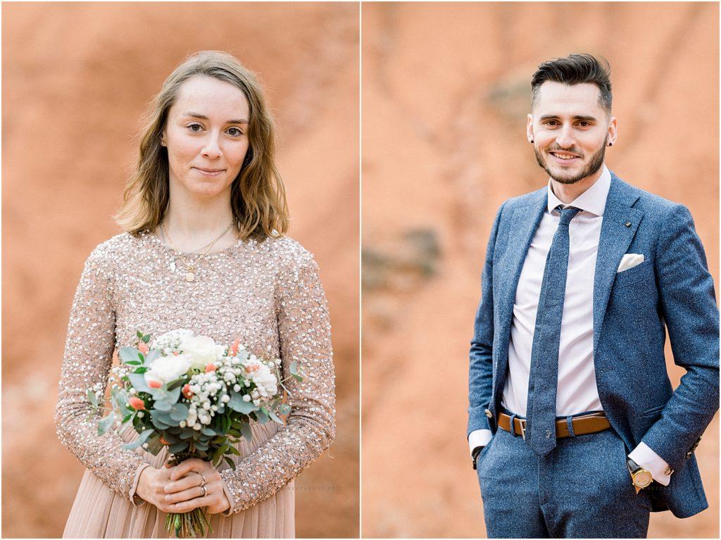 séance photo couple de futur mariés sur aix en provence
