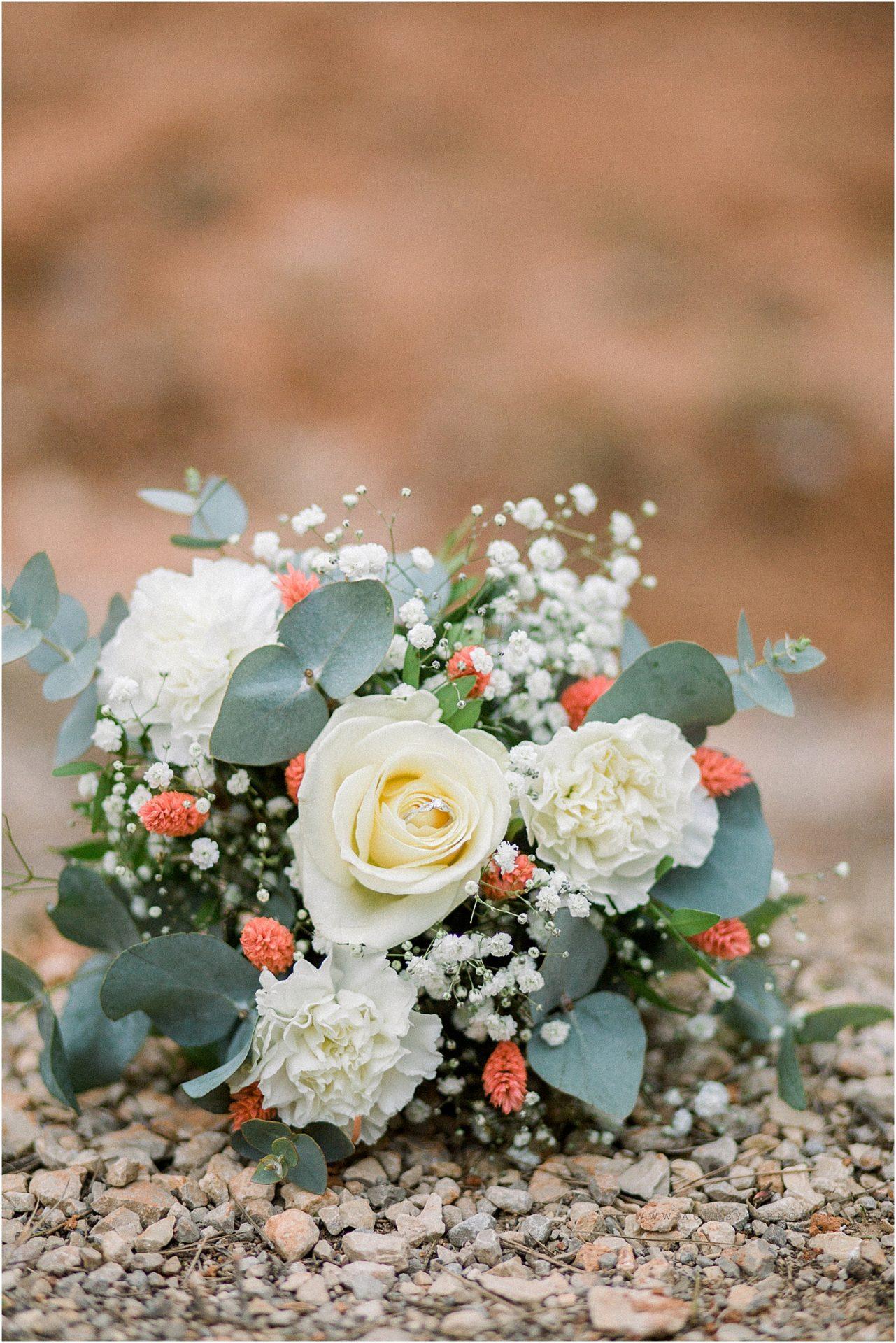 photo du bouquet de mariée à Aix en provence